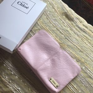 Chloe love makeup 💄 bag